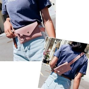 Handbags - Blush Pink Faux Leather Phone Holder Belt Bag